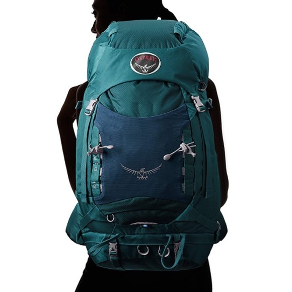 f8ae43cb83 Osprey Kyte 46 hiking backpack teal. M 5b7e98db5098a072bbeb5586
